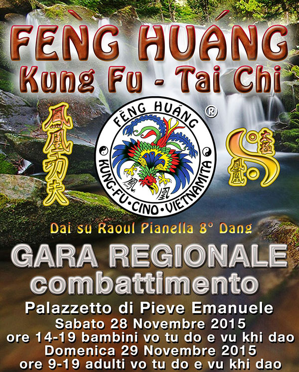 combattimento kung fu feng huang milano